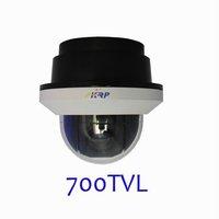"new 2014  CCTV Outdoor PTZ Camera 1/3""   700tvl 10x Zoom 360/s  High Speed Dome Security Camera"