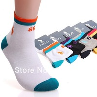 2014 spring new POLO men cotton socks 10 pairs lot men sport socks 9212