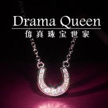 popular horseshoe necklace