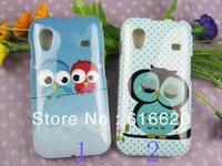 1 x Super Cute OWL pattern TPU Back Case Cover Skin For SAMSUNG S5830 GALAXY ACE