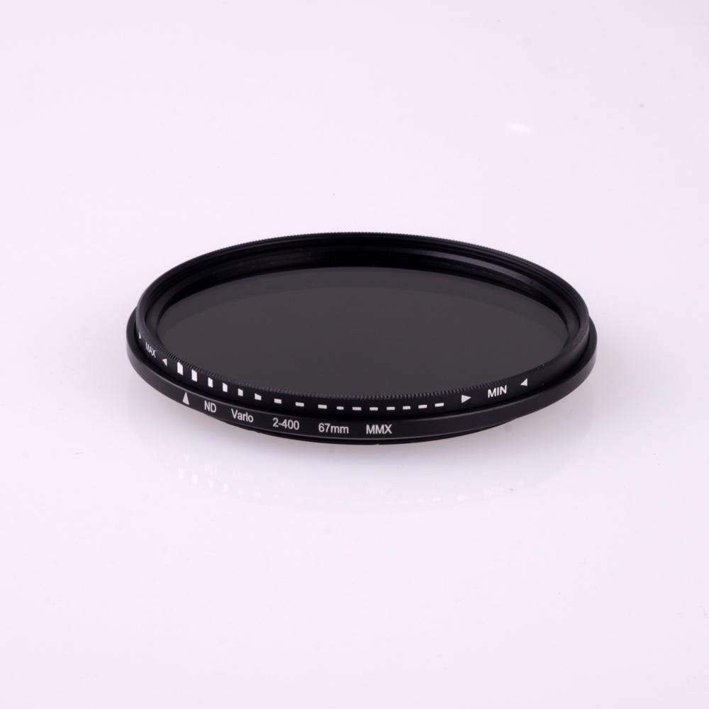 Фильтр для фотокамеры 67 ND ND2 ND400 neutral density nd2 nd400 fader nd filter 72mm