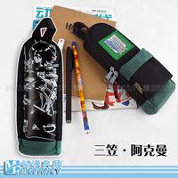 High quality  Attack on Titan Shingeki no Kyojin student pencil case stationery box pencil bag anime cosplay gift