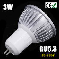100pcs FREE SHIPPING 3W MR16 GU10 E27 GU5.3 LED Spot Light Spotlight Bulb Lamp High power lamp AC/DC12V 3 years Good Quality