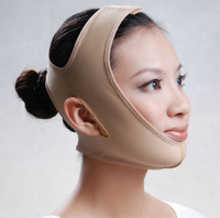 woman girl Powerful face-lift tools powerful  shaping firming face mask  bandage face-lift device belt