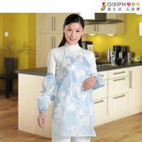 Oversleeps aprons set small fresh bibs gowns, work wear twinset
