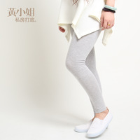 Anne 100% cotton ankle length legging female thin plus size plus size soft touch  Free Shipping