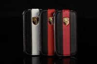 Genuine Leather Flip cover luxury Porschi cases for galaxy S3 i9300