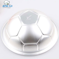 Soccer Ball Pan Football Molds Hemispherical Cake Bakeware Loaf Pans Moulds  Baking Tools For Cakes Stencil 10inch B054