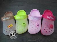 Free shipping+2014 Newest Sdear,Crossbones Style,Super Soft,Children's Summer Beach Sandal,Casual Slipper,4 Colors