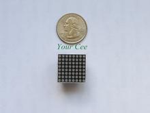 10 pcs 8x8 Mini Dot Matrix LED Display Red Common Anode Digital Tube 16-pin 20mmx20mm 1.9mm DIY Electronic Kit For Arduino(China (Mainland))