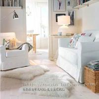 Ikea noordin top sheepskin car seat fur one piece sheepskin carpet wool cushion