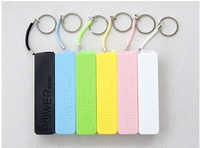 Portable Mobile Power bank 5V 1A output 2600mah Perfume taste smelling Powerbank with Retail packing and with Key ring