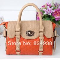 2014 new fashion casual handbags Shoulder Messenger bag Korean version of mobile Quilted