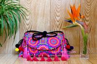 Wholesale 10pcs/Lot Embroidery Woman Handbag/Messager Bag! Vintage Hmong Embroidery Satchels