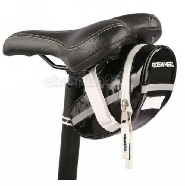 2015 Hot Sale Foldable M Bicicleta Cycling Bag New Bike Bicycle Saddle Rear Seat Pu Leather Bag Waterprof Quick Release 13660(China (Mainland))