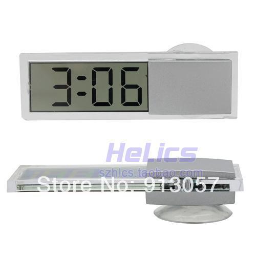 Car Lcd Price Cup Lcd Digital Clock Car