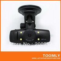 1 Piece Free Shipping HD Digital Car DVR Night Vision 5 Million Pixels 120 Degree Wide Angle Lens 4X Digital Zoom MAX 32G TFCard