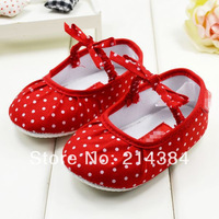 Brand Red prewalker girls dress shoes, fashion children baby shoes girls, top quality shoes,6 pairs/lot!