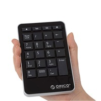 ORICO Multifunctional Portable Numeric Keyboard,Support Windows 98SE/2000/NT/ME/XP/Vista/7 and higher, Mac OS 10.4.X and higher