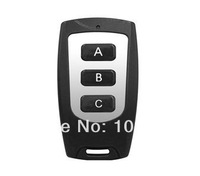 rf wireless remote control (N0.C 3Button work with remote master) for garage door,car remote,alarm system, remote duplicator etc