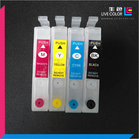 ink cartridge permanent chip for Epson XP 401 101 201 for Epson WF-2532 for Epson T1971  cartridge xp 401 (Latin America)