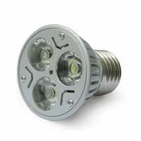 White LED Spot light Bulb Lamp 3X1W E27 110-230V  [LD85]