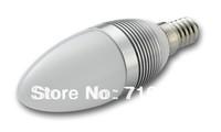 20pcs/lot E14 E27 3W AC85-265V LED candle bulb corn light high power led candle light