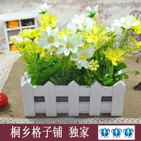 Free shipping Flower pot  flower artificial flower plastic flower decoration
