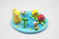 New arrival child wire wooden toy