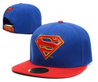 2014 new arrival Superman Snapbacks caps, cheap Cartoon Adjustable camouflage hats, baseball hats,13 style,retail free shipping