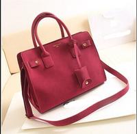 Fashion women's handbag 2014 autumn and winter bags Matte leather handbag single shoulder women messenger bag