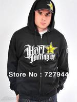 Rockstar Hoodies men's fashion hip hop sportswears 13 styles long sleeve Free Shipping Size S-XXL