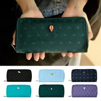 Flight kiitos series canvas wallet fresh long design mobile phone bagKC213