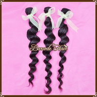 Free shipping Loose Wavy 1B# Peruvian Hair Extension 5A Quality 8-30 inches Brazlian Human Hair
