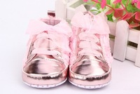 Bebe first walkerskids Toddler Shoes sapatos baby Lace-up Rose flower soft sole Girl shoes 3 colors