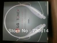 Whloesale 50pcs/lot  Headset Bluetooth Headset for LG Tone HBS 730 Wireless Mobile Earphone Bluetooth Headset Free Shipping