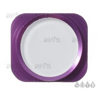 Home Button Key Replacement Part for iPhone 5 - Purple / White Free Shipping Wholesale