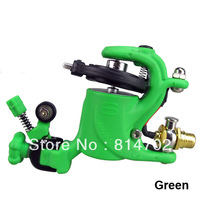 High Quality Swashdrive Gen Style Green Rotary Tattoo Machine Gun Shader Liner For Tattoo Needle Ink Cups Tips Kits