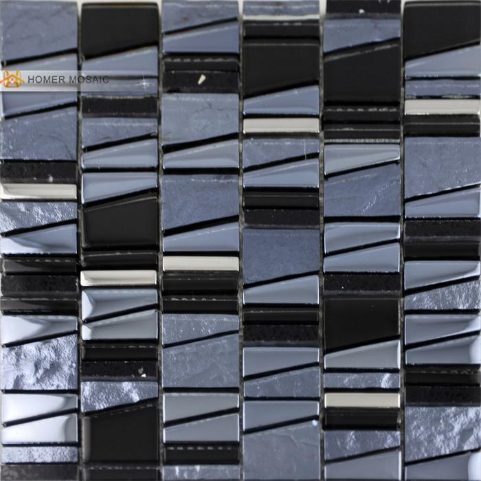 ... tegels, glas, zwart en grijze kleur keuken backsplash tegels badkamer
