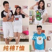 free shipping 2014  Fashion Good Quality 95% Cotton T Shirt Women T-shirts tee shirts