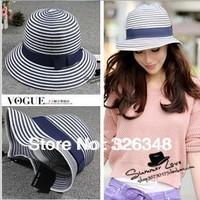 Free shipping!Hot selling 2014 New fahison summer Raffa Straw women's sun hats sunbonnet caps M62