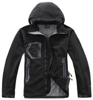 New brand Spring Autumn winter men waterproof windstopper Softshell Windbreaker Jacket