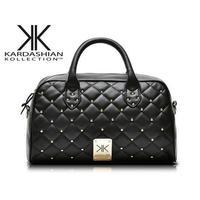 kardashian kollection brand rivet kk bag new in 2014 women KK handbag chain portable one female shoulder bags