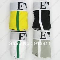 4pcs/lot mixed order men's underwear brand man boxers shorts cotton