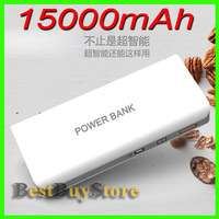 Quality 15000mAh External Battery / Power Bank for iPhone 5 4 4S 3GS / SAMSUNG Galaxy S4 S3 S2 / Galaxy Note, Fit all Mobile