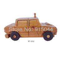 Handmade wood DIY wood crafts for home wood crafts decoration Car  distributes wood crafts, arts and toys gifts
