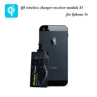 I3 QI wireless charger accessory mobile phone chargers QI wireless charger receiver module for Iphone 5/5S/5C/iPad mini