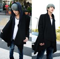 2014 spring non-mainstream personality male coat cloak male version of cardigan cloak
