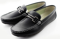 free shipping new 2013 genuine leather men loafers shoes designer flats man brand casual mocassin espadrille shoes british style