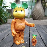 Bearbrick Be@rbrick Tropical Fruit Style 400% Large Size Decoration Doll Toy Model Birthday Gift